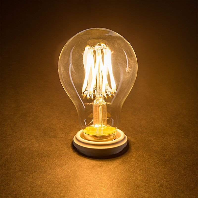 12v Low Wattage A19 Filament Led Light Bulb 40w Equivalent 490 Lumens Led Light Bulb Light Bulb Bulb