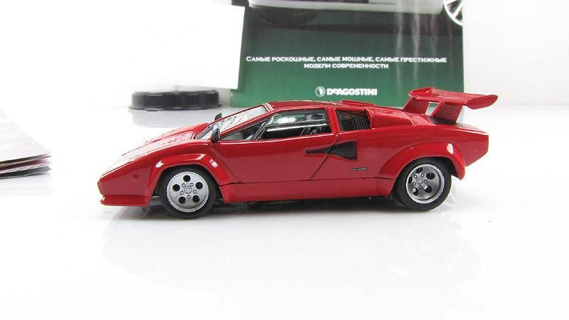 Deagostini 1 43 Lamborghini Countach Lp500 Diecast Car Model Supercar Magazine Diecast Plastic Parts By Stockoft Lamborghini Countach Diecast Cars Super Cars