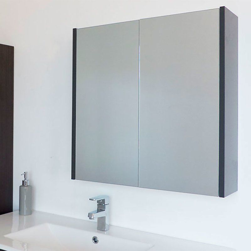 Caelum Modern Bathroom Mirror 24 X 24 Surface Mount Medicine