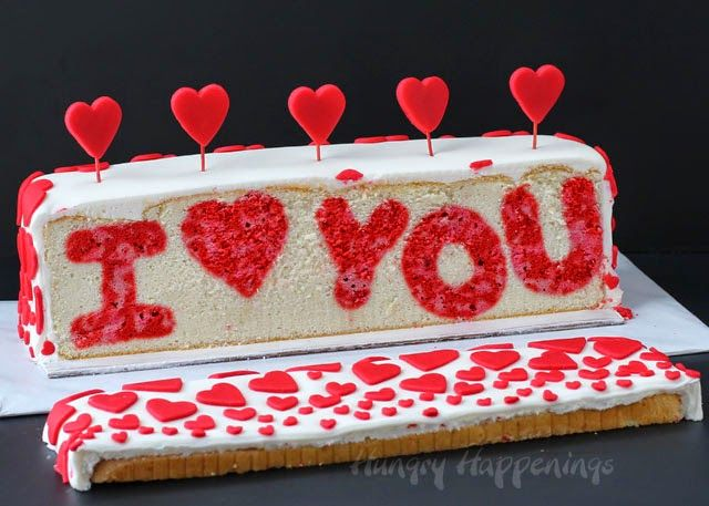 Birthday Cakes Ideas For My Husband ~ The sweetest i love you cake for valentine s day cake raspberry