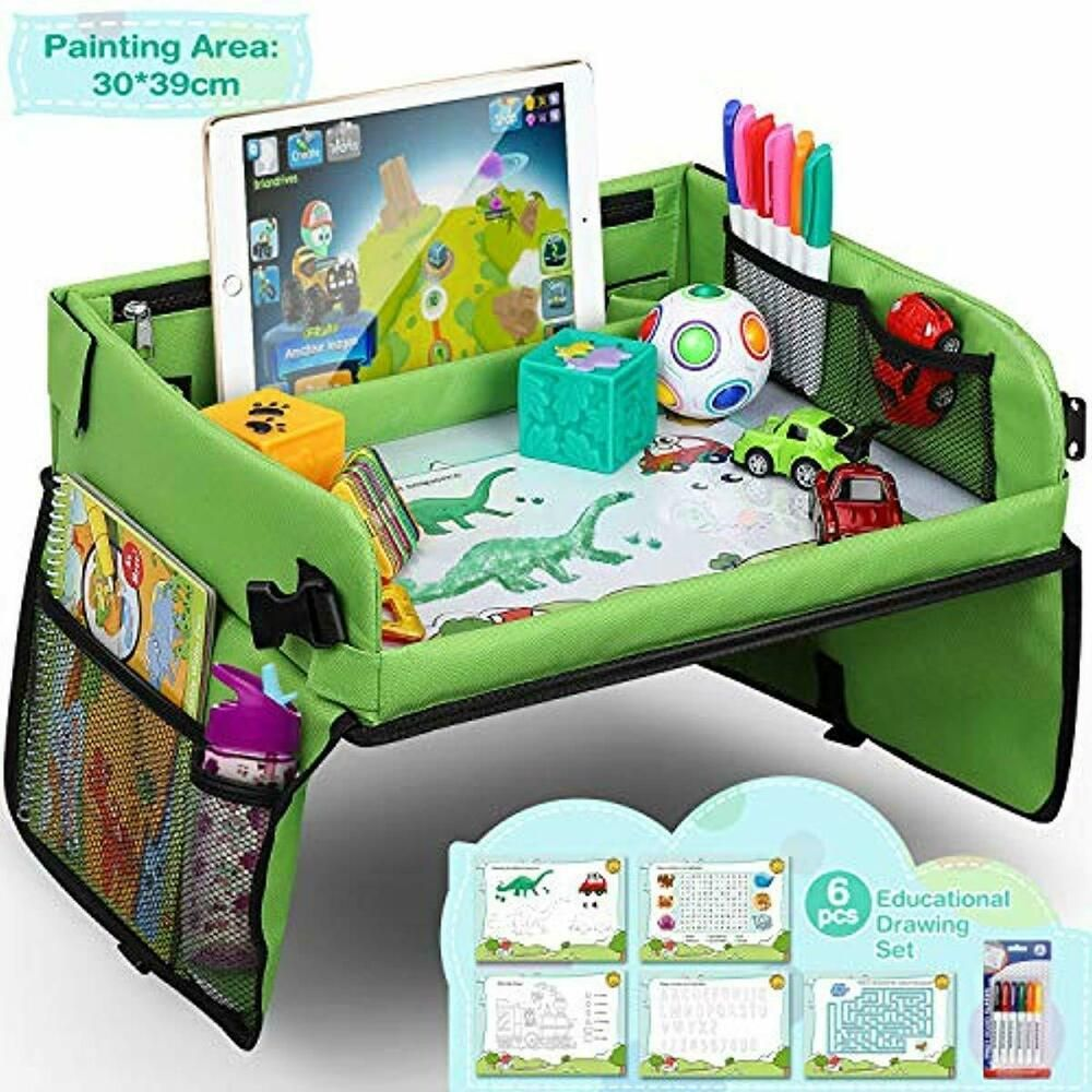 Details about Snack & Play Travel Tray with Dry Erase Top
