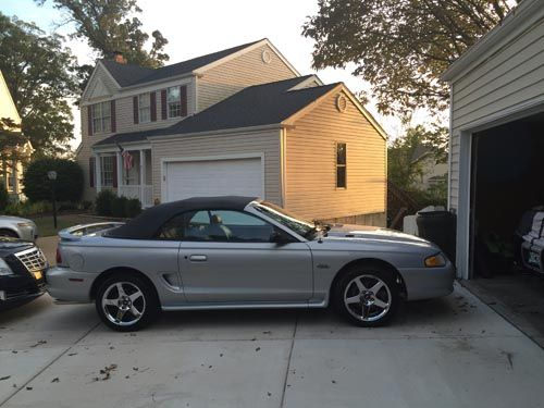 Carter S 1996 Opal Frost Ford Mustang Gt Convertible