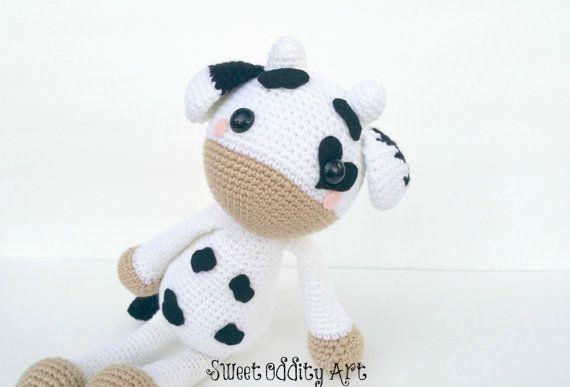 Cow Crochet Pattern Crochet Cow Amigurumi Cow Cow Pattern
