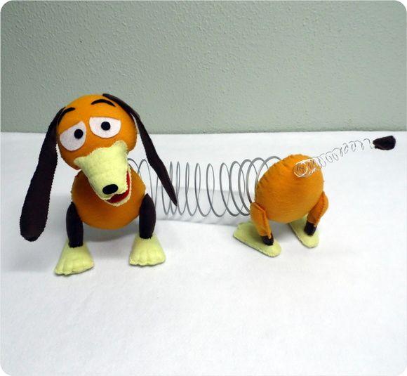 cachorro de mola toy story feltro pinterest toy and craft