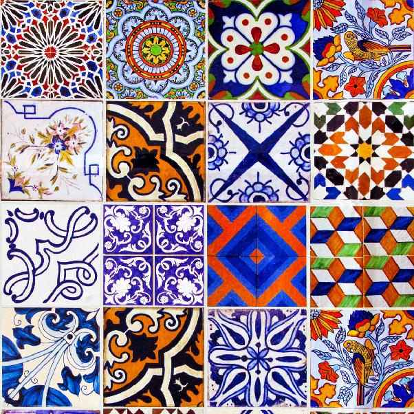 Colou adesivos papel de parede azulejos portugueses 12 for Azulejos de portugal