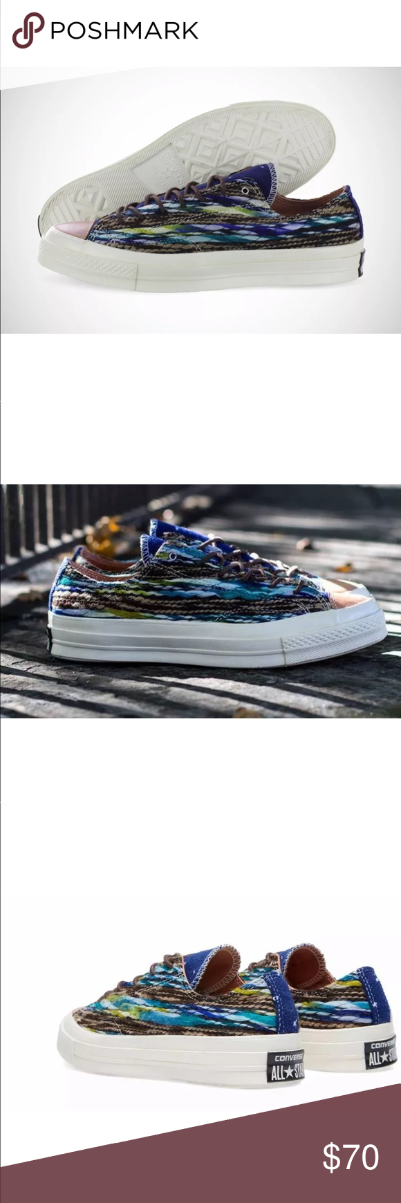 918b5ddb5b5f Men s Converse X Missoni Chuck Taylor  70 Ox NEW IN OPEN TOP BOX