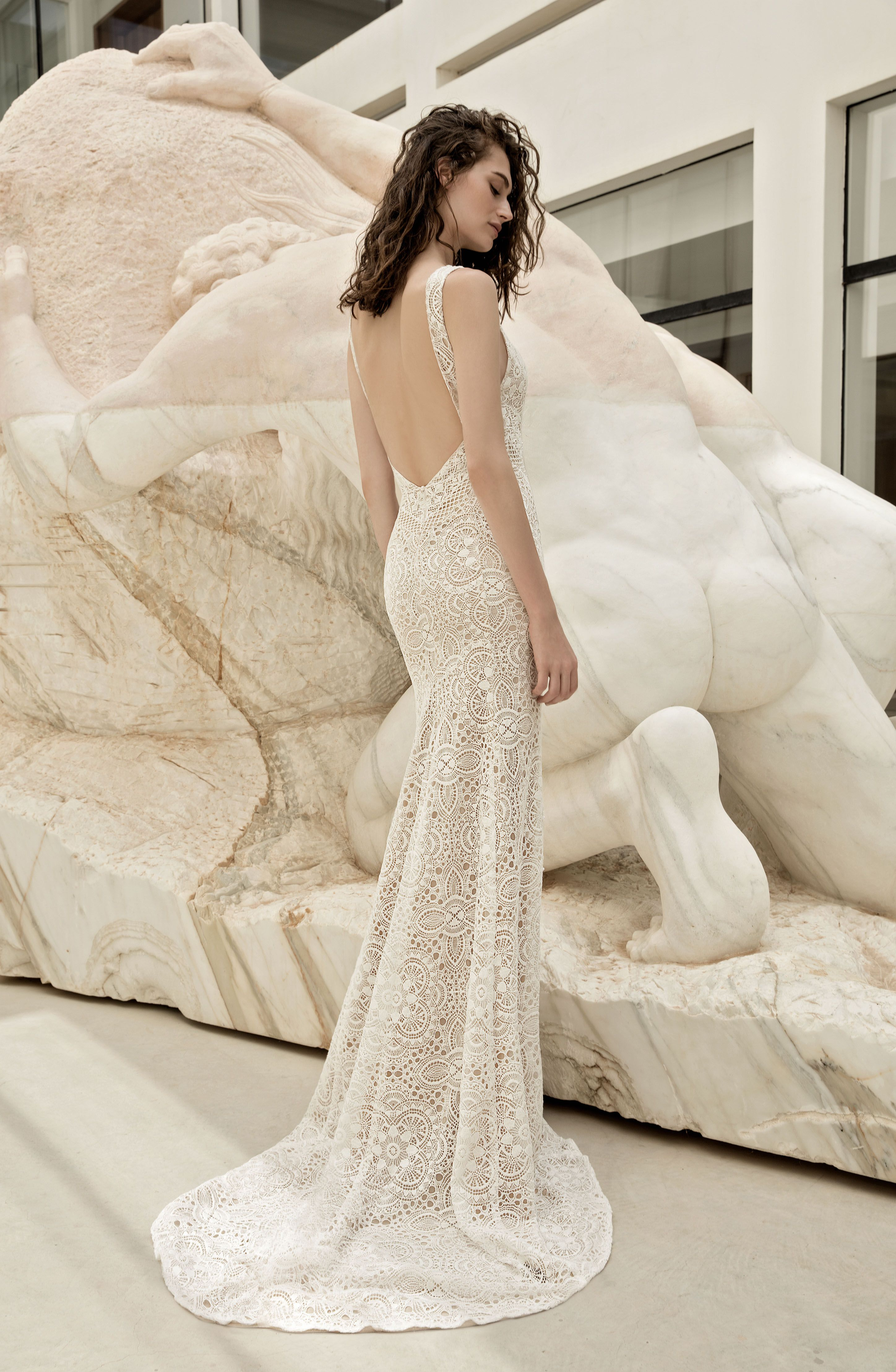 Full Lace wedding gown by FLORA Identity collection Petra dress ...