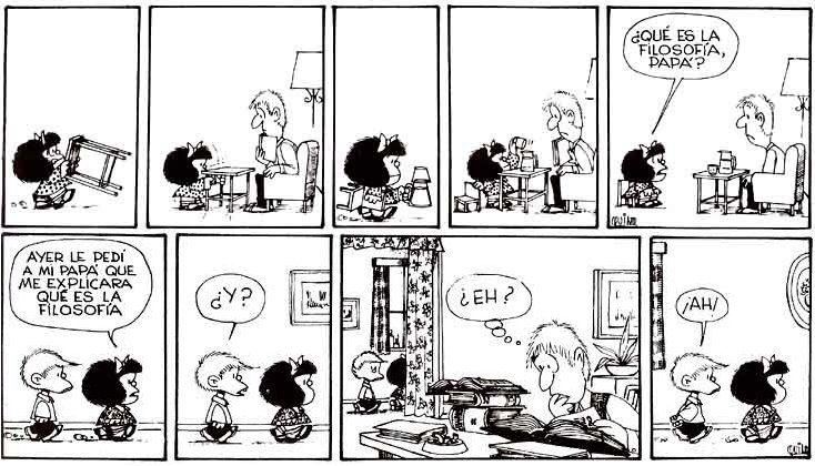 Qué es la filosofía? | Filosofía, Mafalda comic, Arte y literatura