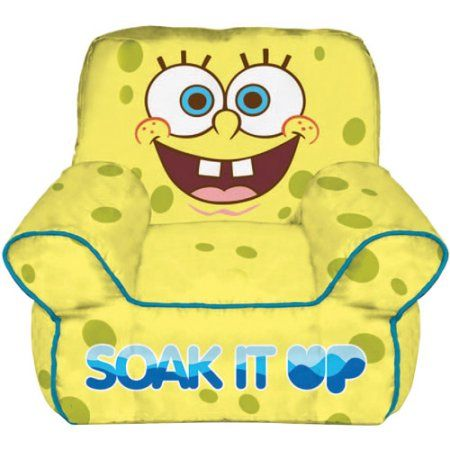 Surprising Nickelodeon Spongebob Squarepants Toddler Bean Bag Chair Gmtry Best Dining Table And Chair Ideas Images Gmtryco