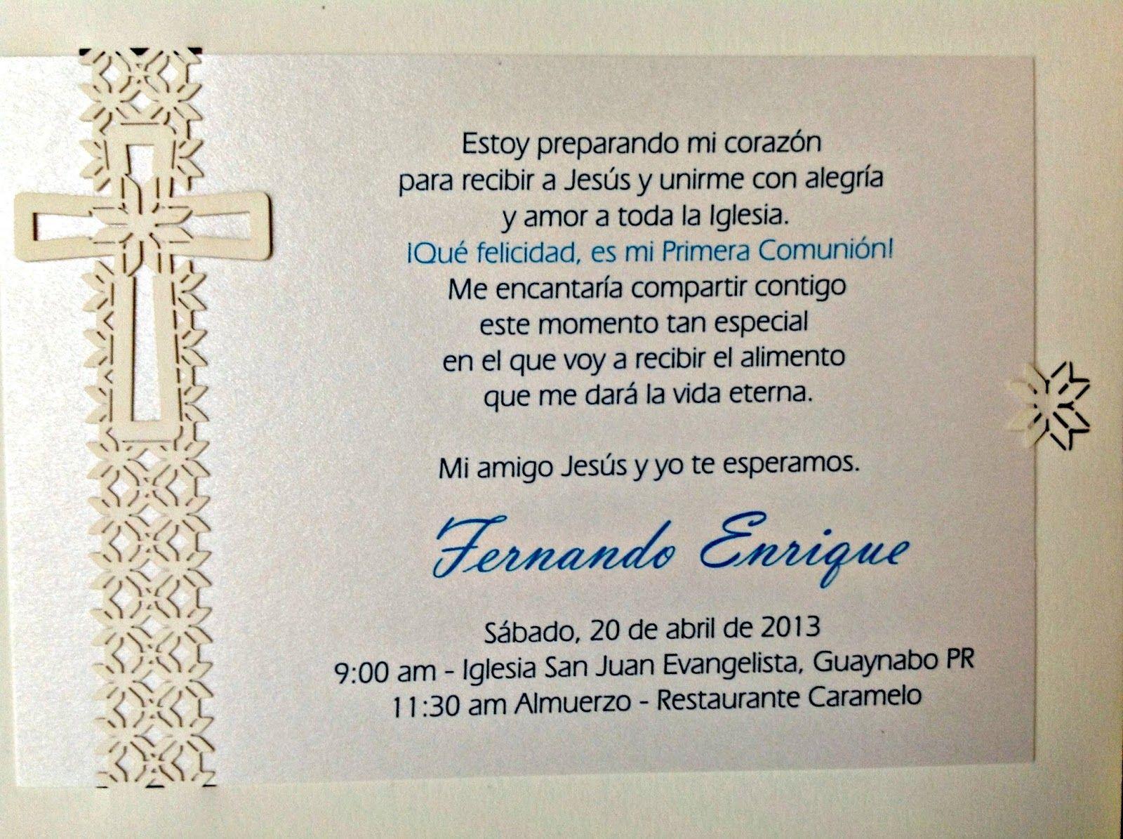 Invitaciones para primera comunion buscar con google - Como hacer tarjetas de comunion ...