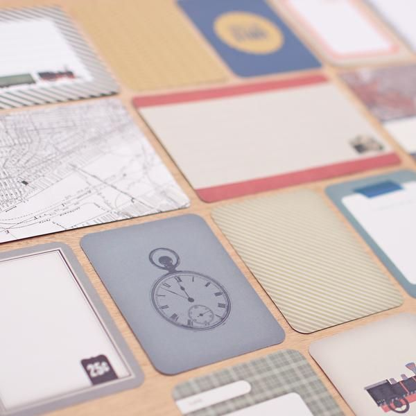 Looking for the perfect kit to document a recent trip or adventure? The Vintage Travel Edition is filled with maps, airplanes, cameras and more!