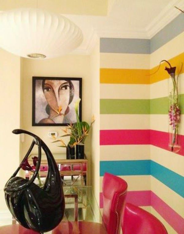 10 Creative wall painting ideas and techniques for all rooms | one ...