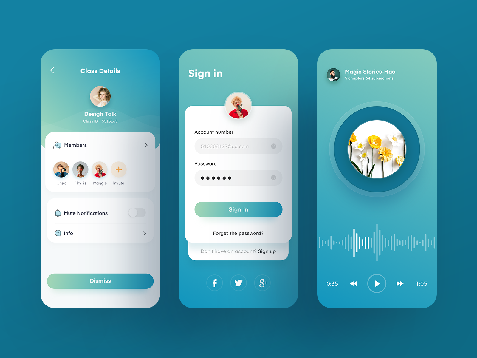 Educational Application | Helsa | Ui design inspiration, Ui