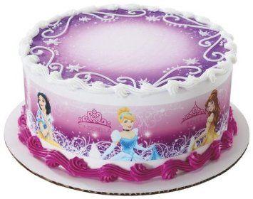Amazon Disney Princess Edible Cake Border Decoration Everything Else