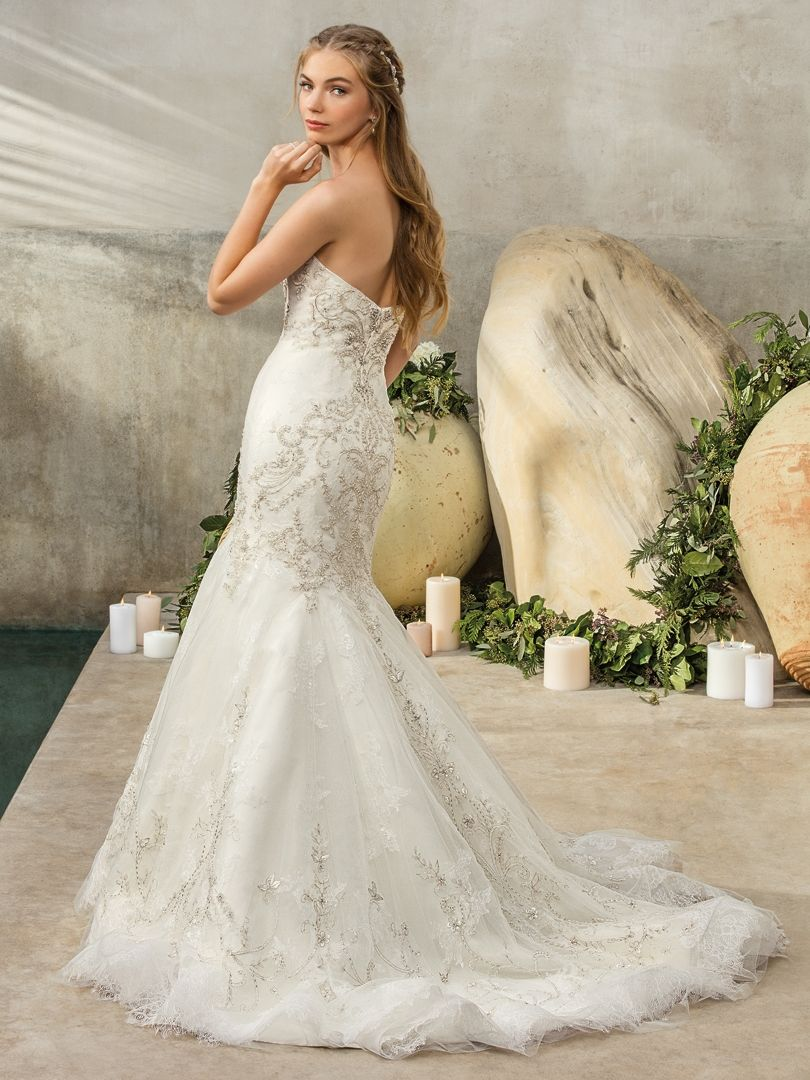 Style 2304 Cambria Ivory Ivory Silver Wedding Gowns Lace Wedding Dress Styles Casablanca Bridal