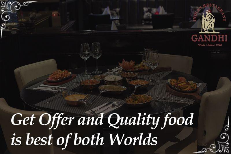 Get Offer And Quality Food Is Best Of Both Worlds More Info Visit Https Indianrestaurantgandhi Com Leidseplein Din Food Halal Recipes Food Quality