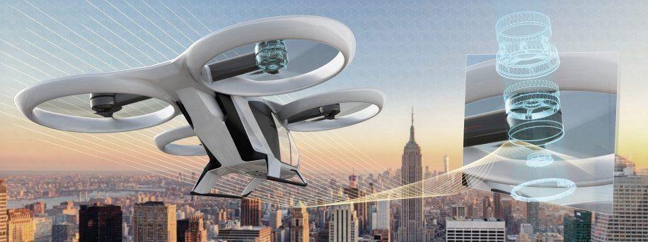 El taxi volador como futuro de la movilidad en ciudades