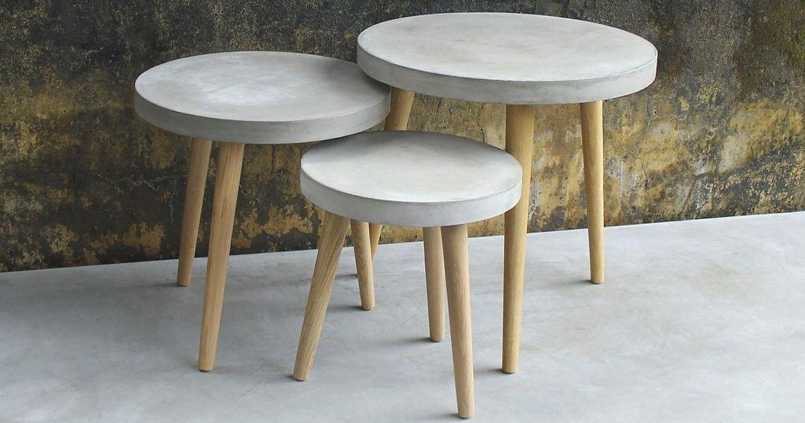 Wohnzimmer Lumen ~ Sit beistelltisch »cement« in zwei größen