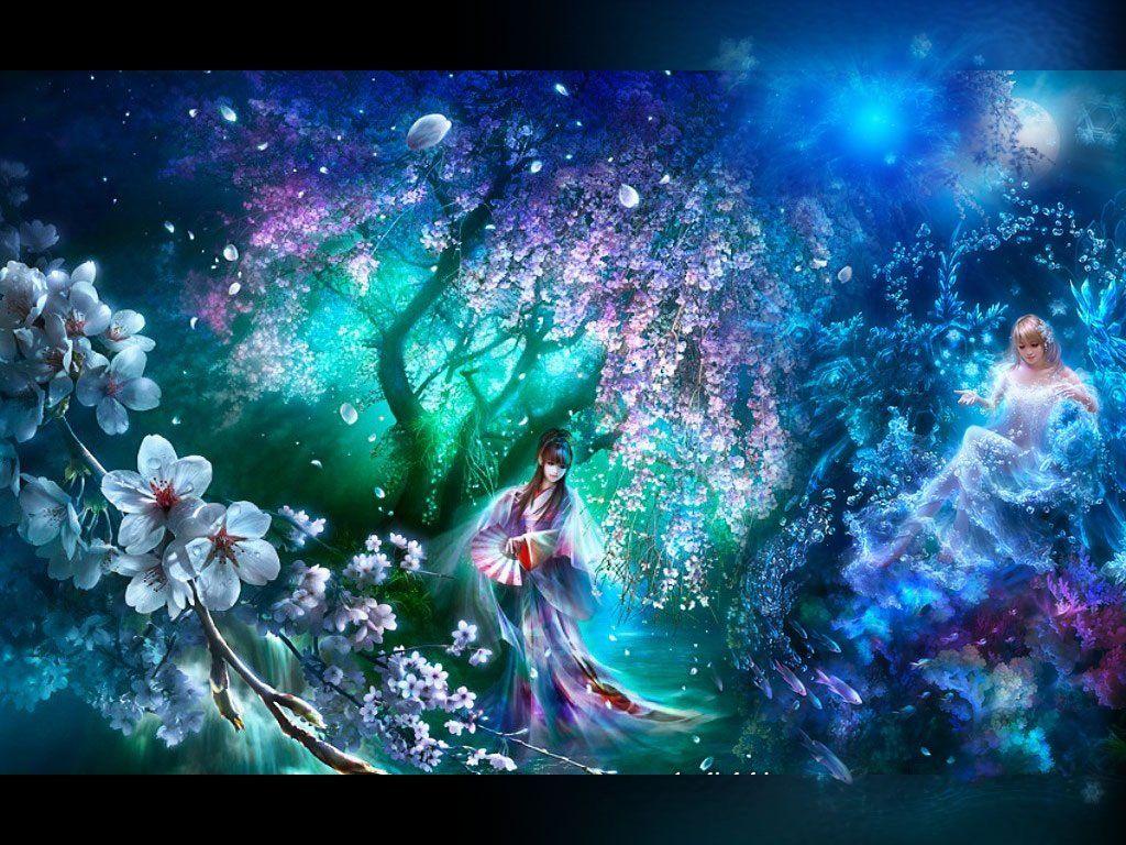 Картинки волшебной ночи сказочных снов, открытки