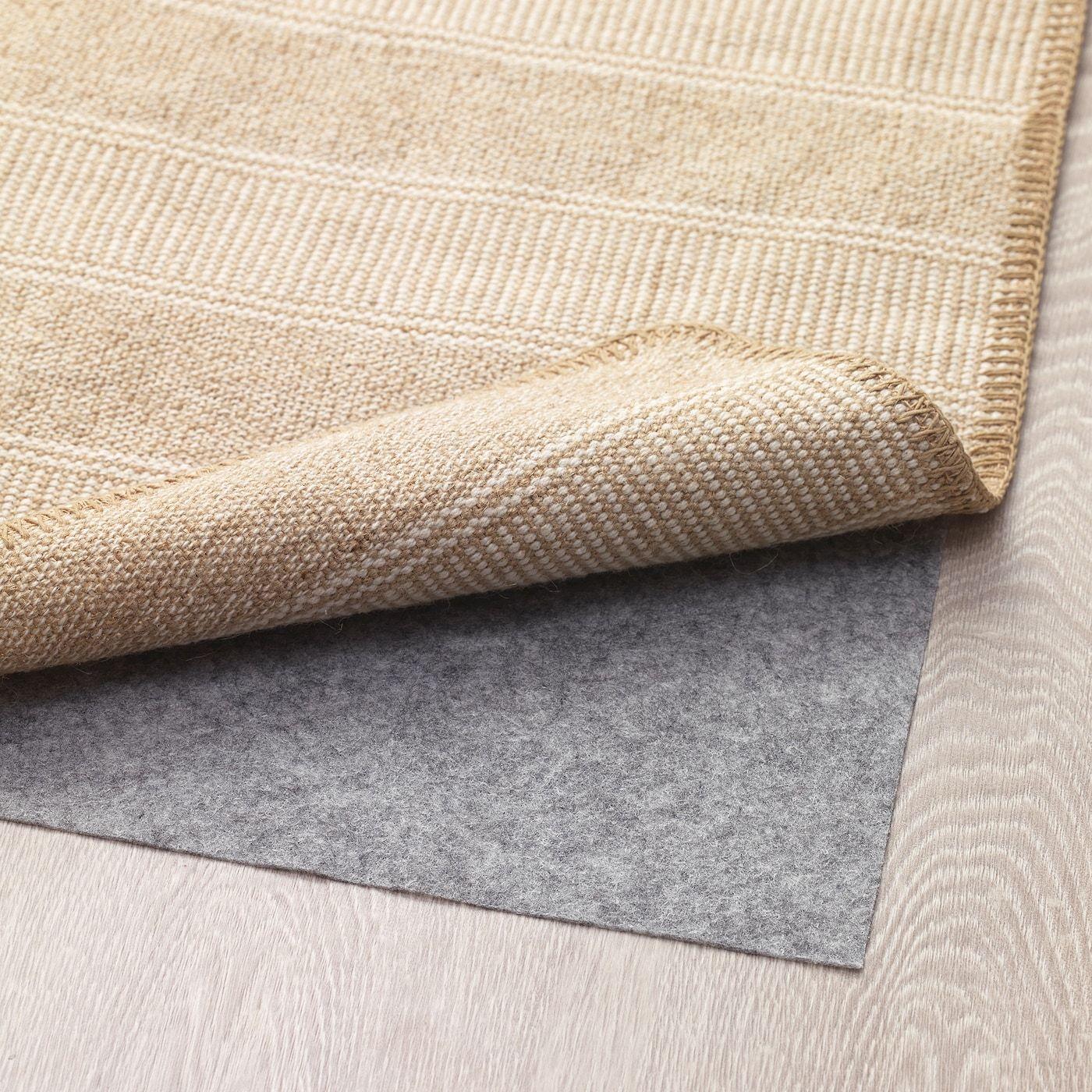 Klejs Teppich Flach Gewebt Beige Weiß 50x80 Cm Ikea Österreich Teppich Flach Gewebt Teppich Beige