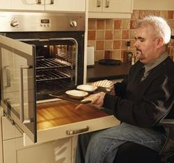 Disabled friendly ovens google search wheelchair for Disabled friendly kitchens