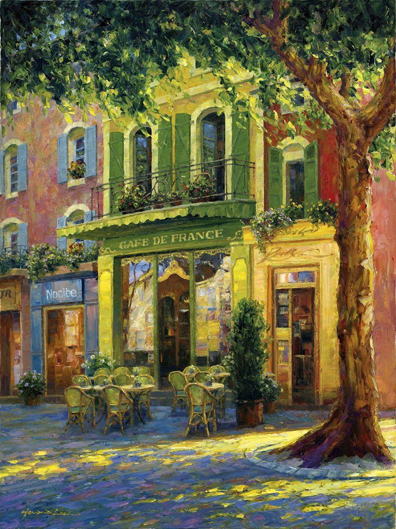 Как тихи улочки старинных городов... Художник Haixia Liu. Обсуждение ...