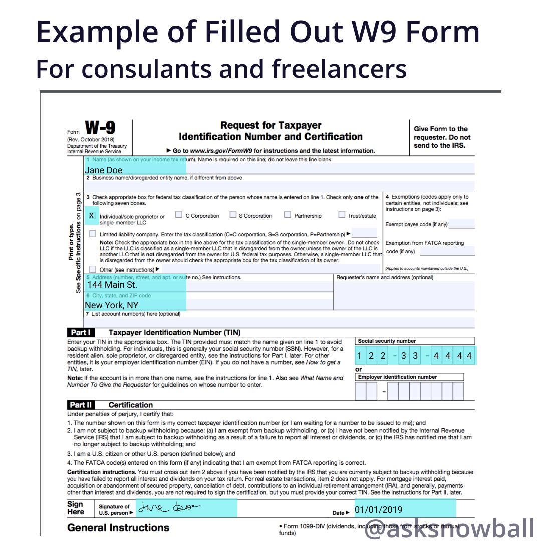 How To Fill Out A W 9 2019 Throughout 2021 W9 Form In 2021 Irs Forms Tax Forms Personal Calendar