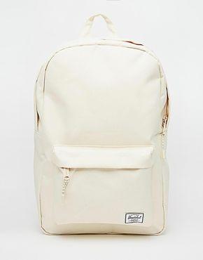 7ed66b42eb0 Herschel Supply Co Classic Backpack in Cream   wishlist   Pinterest ...