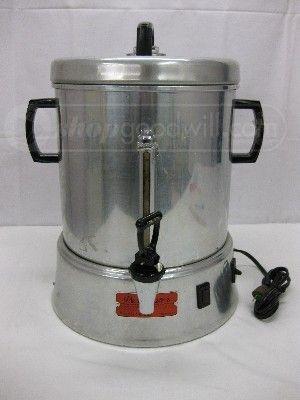 Vintage Percolator Urn By Enterprise Ap48h 120v 60 Cups