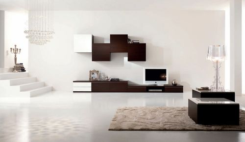 exemple disposition meuble tv salon pinterest tvs and salons. Black Bedroom Furniture Sets. Home Design Ideas