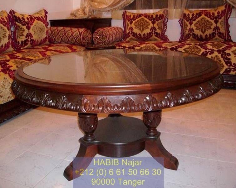 table salon marocain - Recherche Google  Table salon