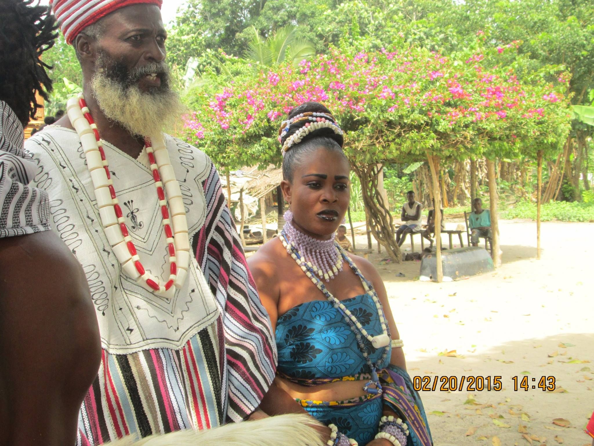 Liberian Traditional Wedding Attire