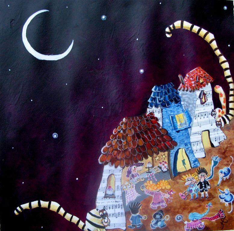 La notte di santa lucia in un paese lontano