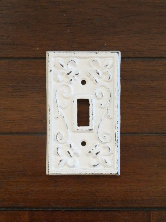 This Is A Single Light Switch Plate