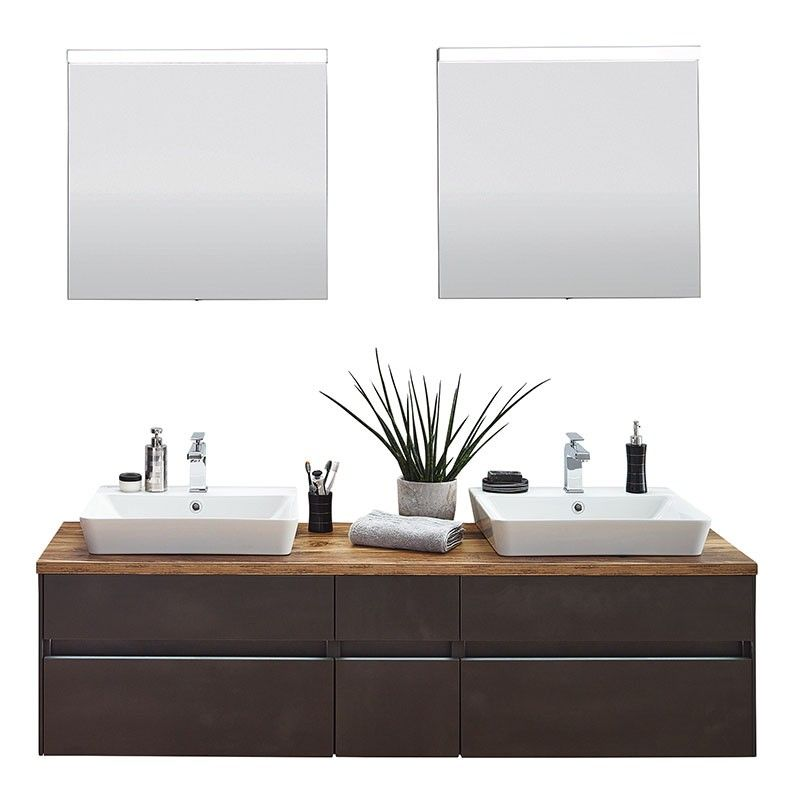Puris Unique Badmöbel Set - badezimmermöbel aus holz