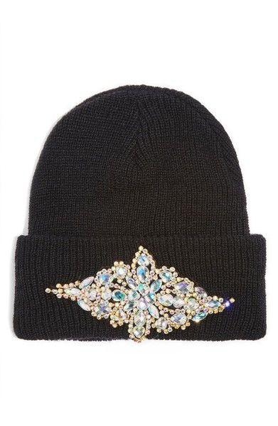 c4c77da7368 Main Image - Topshop Bling Beanie Hat