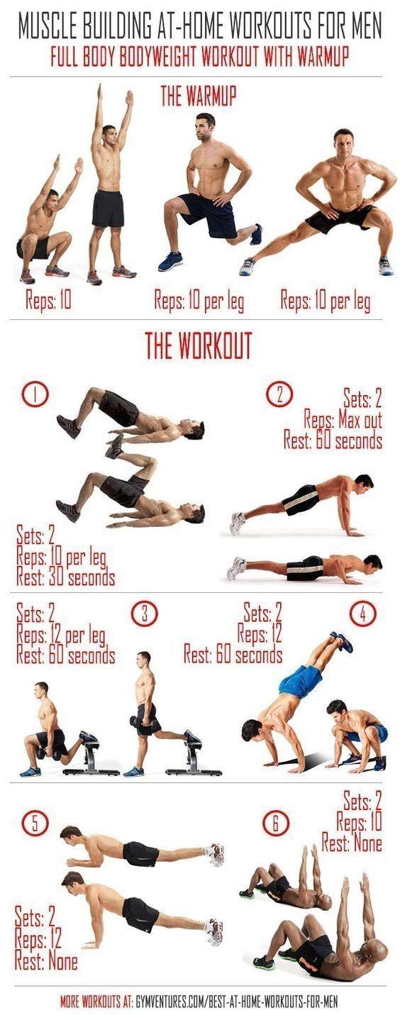 Upper Body Workout For Men Full Body Bodyweight Workout Home Workout Men Best At Home Workout