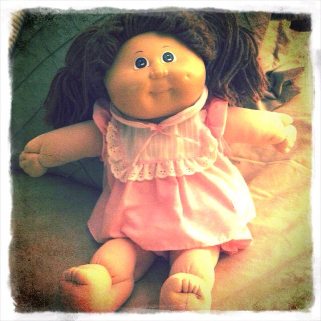 Cabbage Patch Kids Loved My Little Carina Christina Cabbage Patch Dolls Cabbage Patch Kids Cabbage Patch