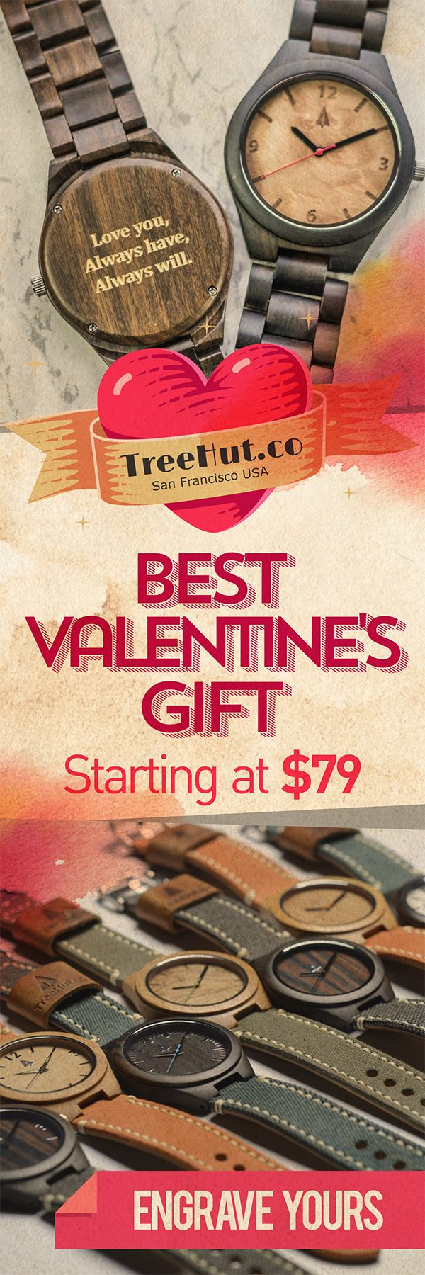 Get 20% off all couples watches with our Valentine\'s Day promo! Free ...