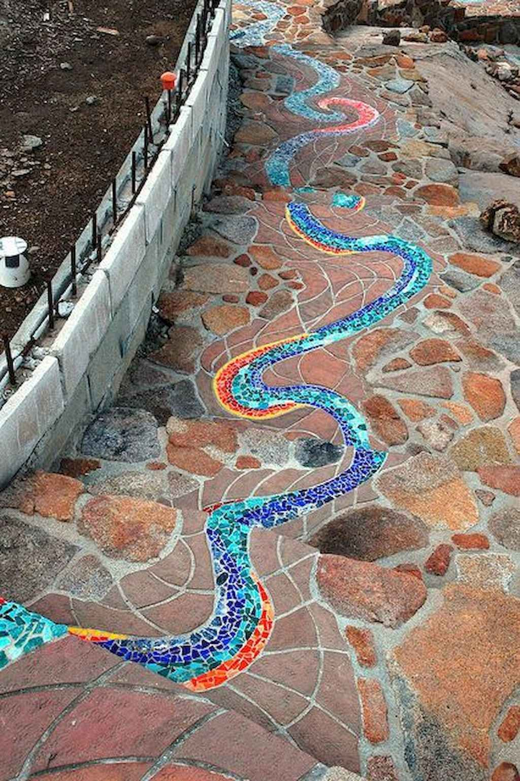 Photo of 03 Magnificent DIY Mosaic Garden Path Decorations For Your Inspiration – Decoradeas