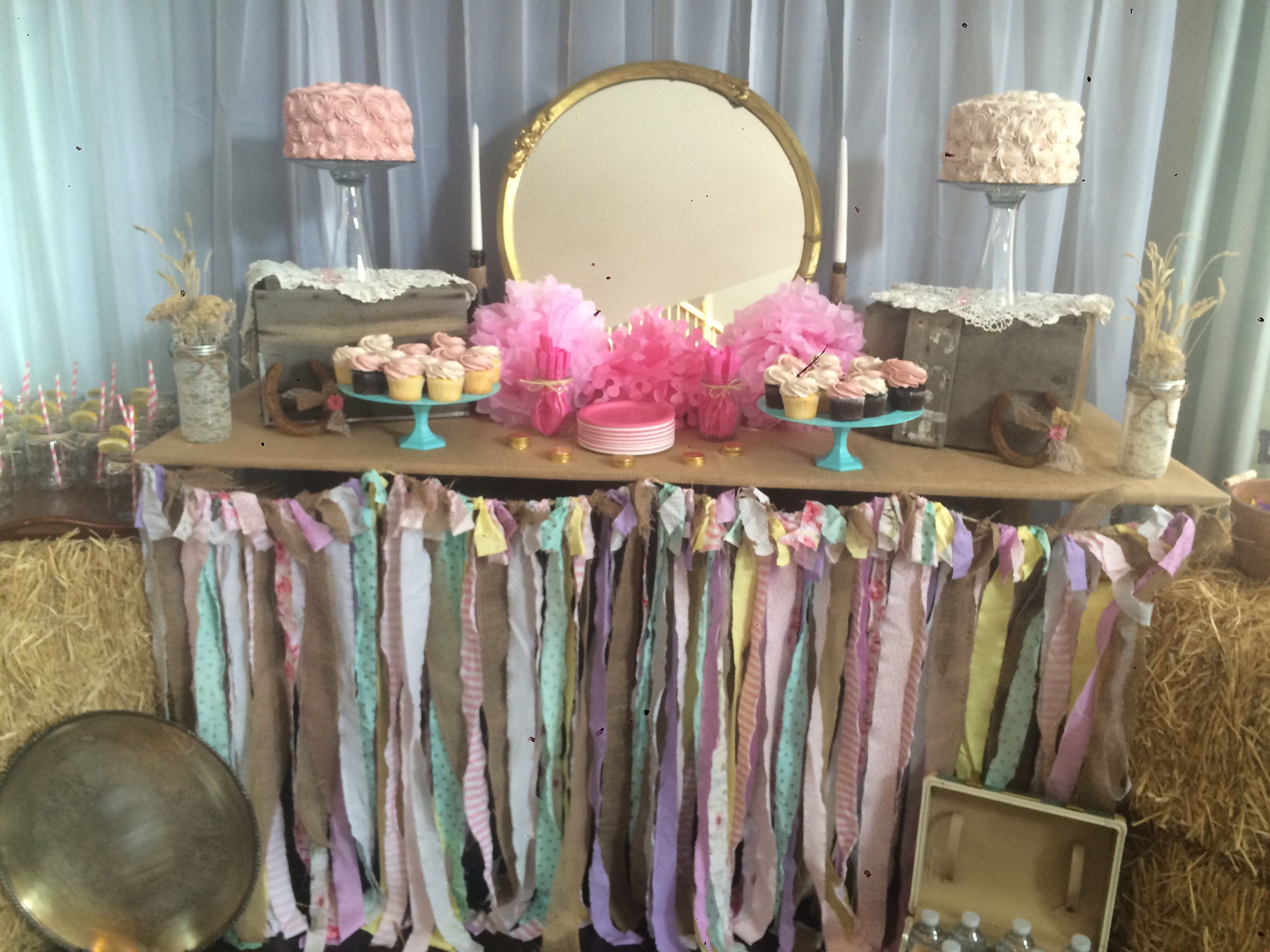 Bale Of Hay Country Theme Baby Shower