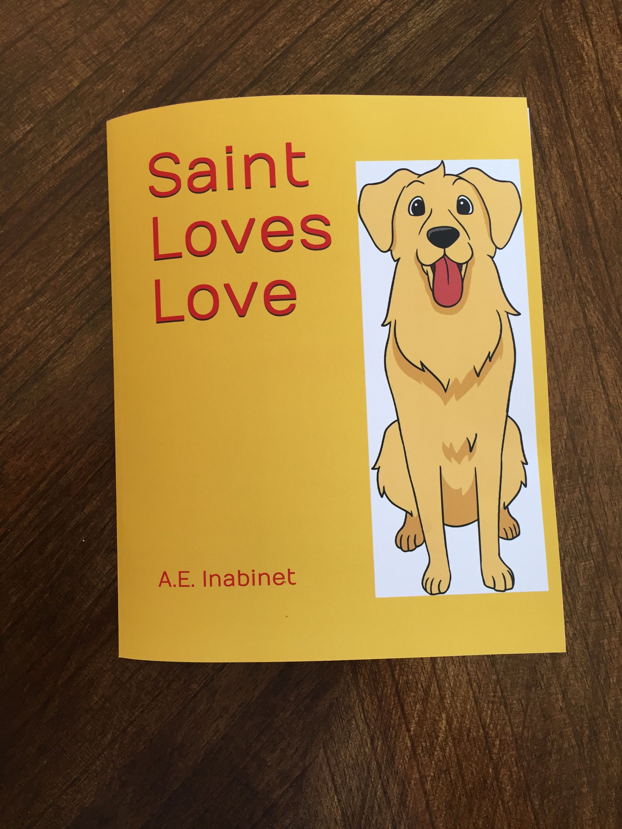 Sweet Children S Picture Book About A Golden Retriever Who Loves