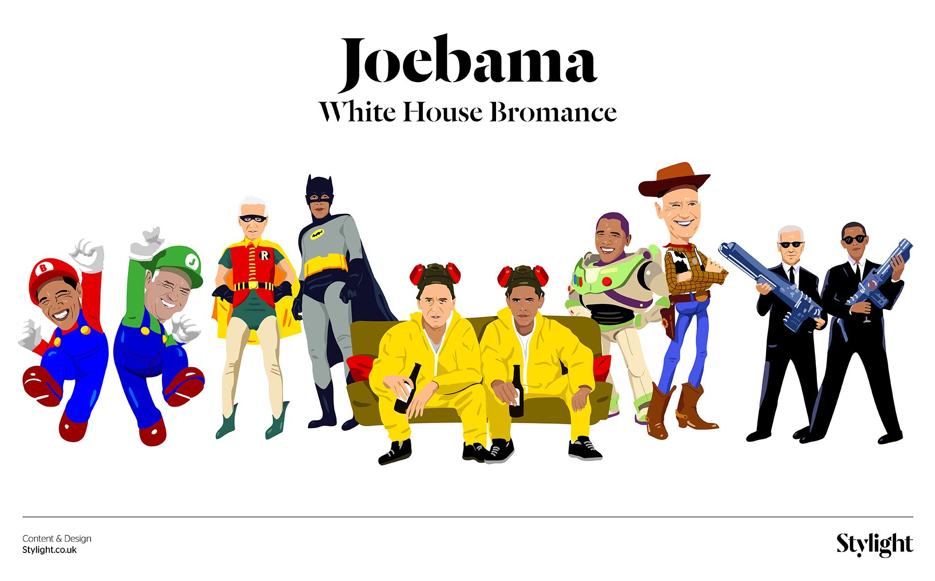 Joebama: White House Bromance