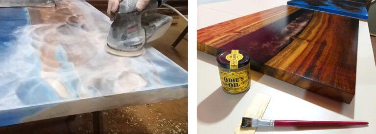 Anleitung Epoxidharz Tisch Aus Holz Selber Machen In 2020 Epoxidharz Selber Machen Tisch Harztisch