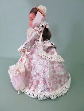 Vintage Doll- Victorian dress ,umbrella, handbag, pantaloons,petticoat etc. #dollvictoriandressstyles