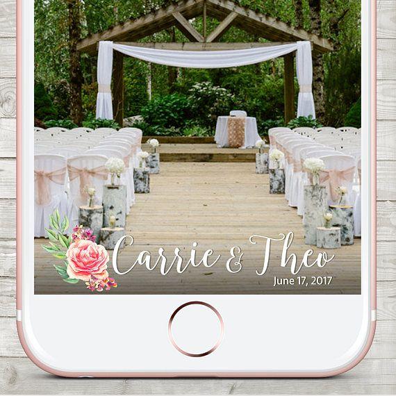 Wedding Snapchat filter Snapchat Wedding Geofilter Snapchat