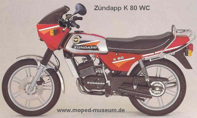 Zum Schluss Die Gunstigste 80er Von Zundapp Motorrad Alte