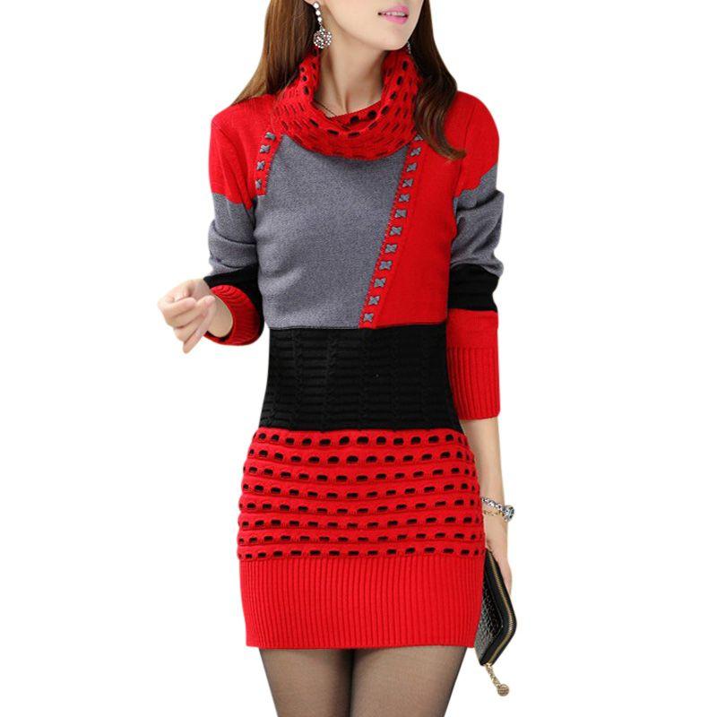 Tunic and Dress Knitting Patterns | Knit patterns, And