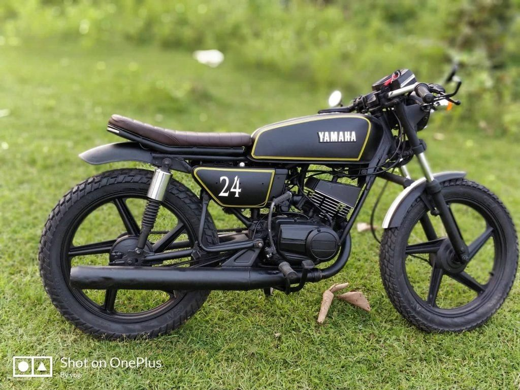 Modified Yamaha Rx 100 Top 10 Bikes In India Details And Photos With Images Yamaha Rx100 Motorcycles In India Yamaha Bikes