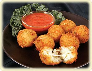 Deep fried risotto bites great party apps domestic - Olive garden crispy risotto bites ...